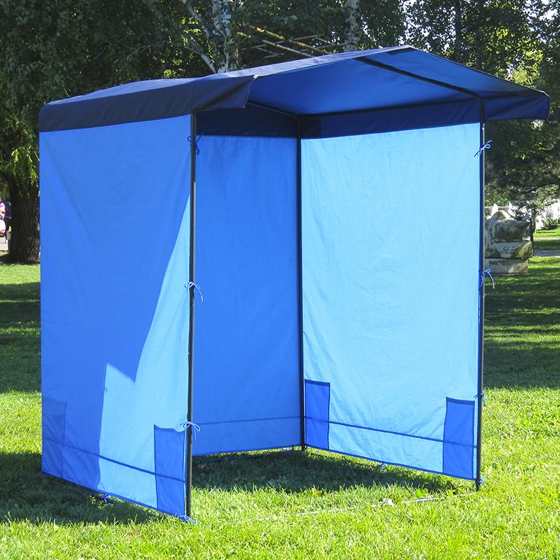 агитационная палатка с карманами по бокам