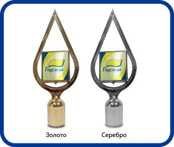 Навершие с гербом или логотипом компании