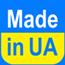 Шарф из габардина однотонный с логотипом