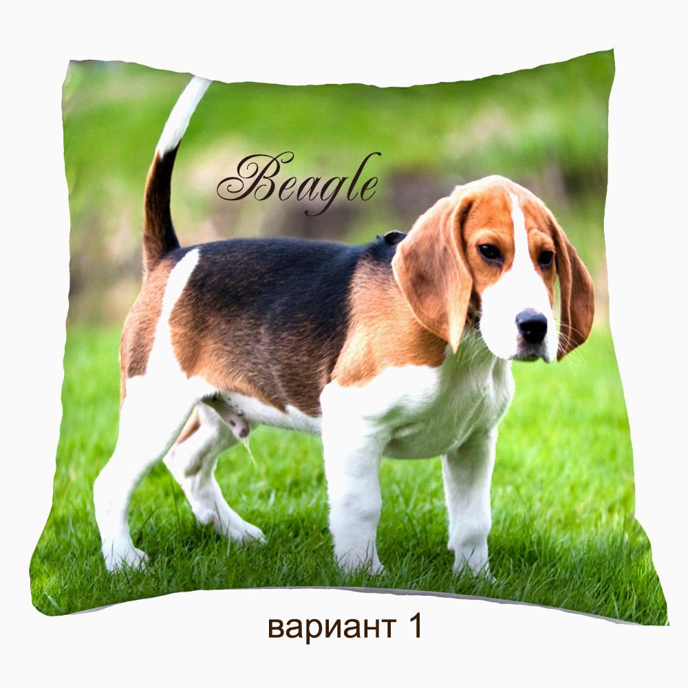 подушка с фото домаших животных