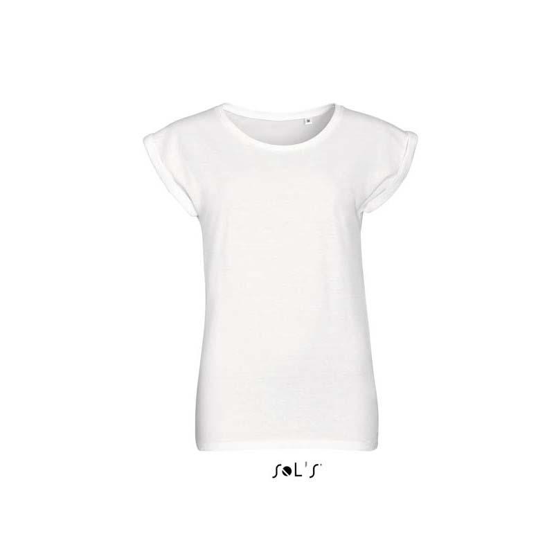 Жіноча футболка с круглим воротом SOLS MELBA-01406 77fd783708b9c