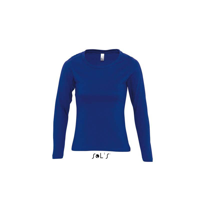 Футболка жіноча с круглим воротом SOLS MAJESTIC-11425 78ad2d3023354