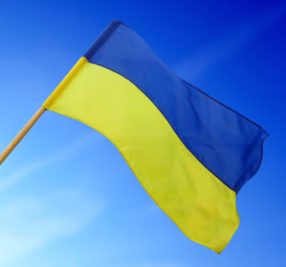 Как сделать флаг украины своими руками из рук