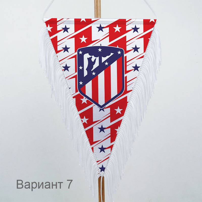 Вымпел с логотипом ФК Атлетико Мадрид (Atletico Madrid)