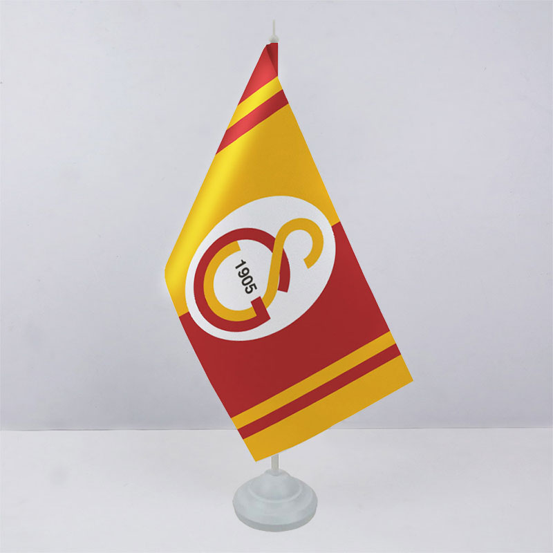 Флажок ФК Галатасарай (Galatasaray) на пластиковой подставке