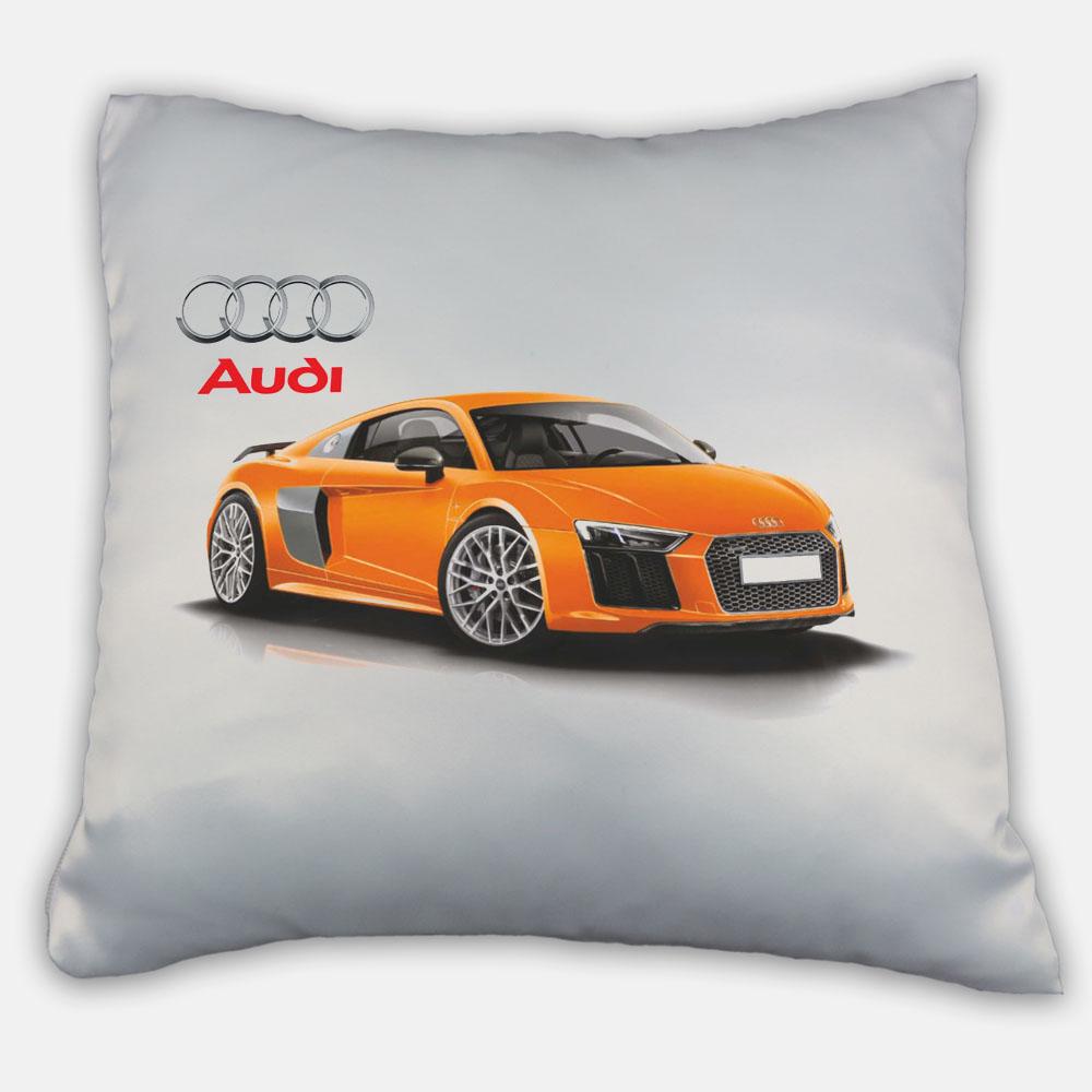 Подушка с логотипом Audi