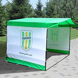 тент для палатки с печатью